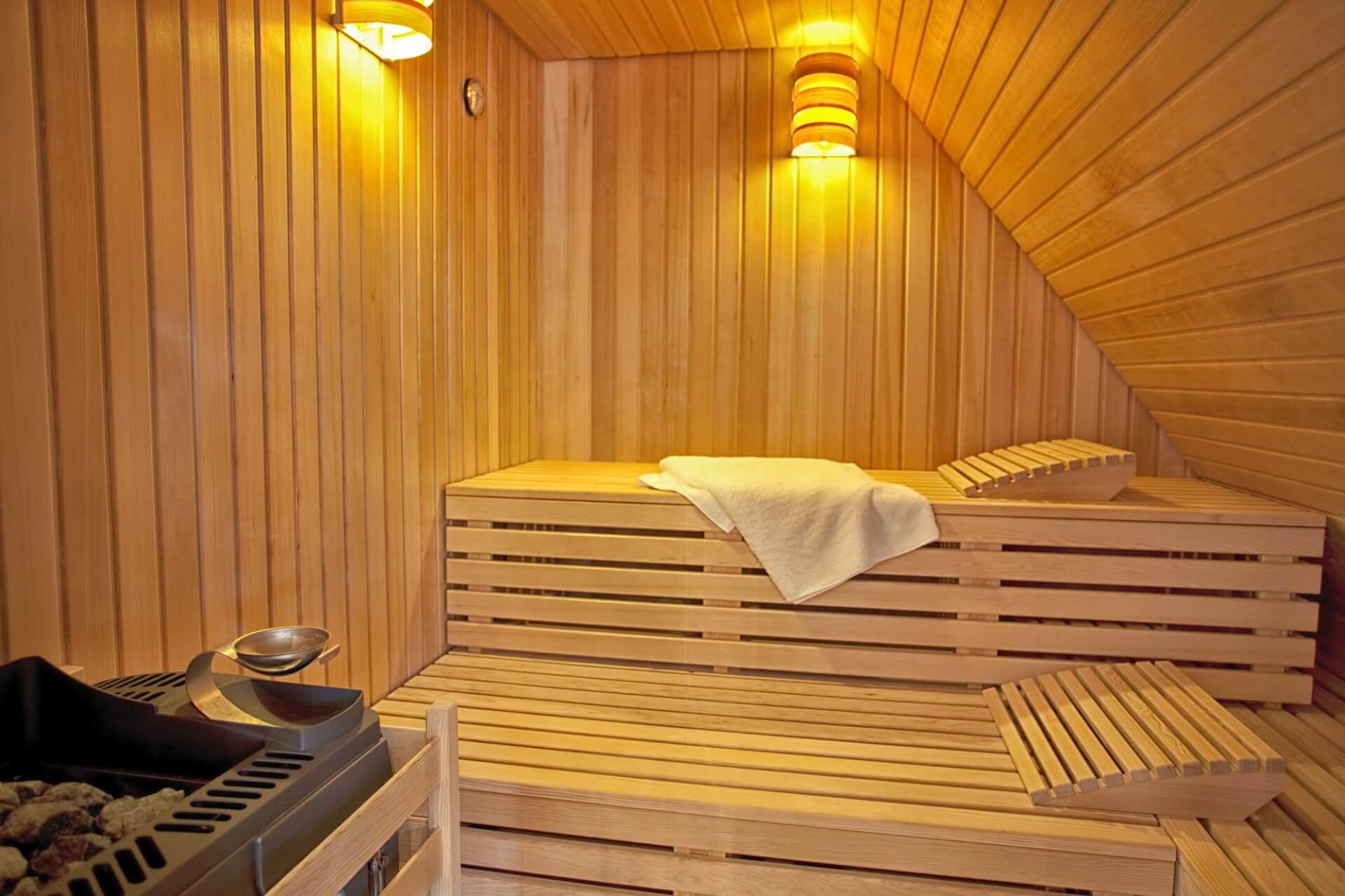 Finnische Sauna im Gasthof zum Löwen in Wilflingen