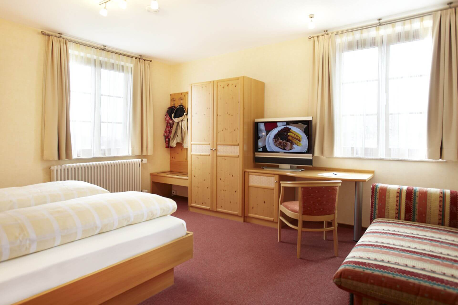 Doppelzimmer - Gasthof zum Löwen Wilflingen bei Langenenslingen