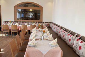 Veranstaltungsraum im Gasthof zum Löwen in Wilflingen