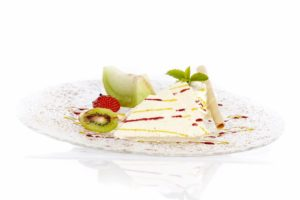 Vanilleparfait im Gasthof zum Löwen